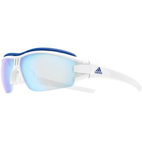 adidas Evil Eye Halfrim Pro Cykelglasögon blå/vit